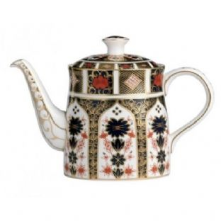 Royal Crown Derby Old Imari 1128 Small Teapot